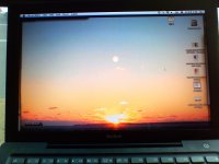 Sun in Laptop Wallpaper